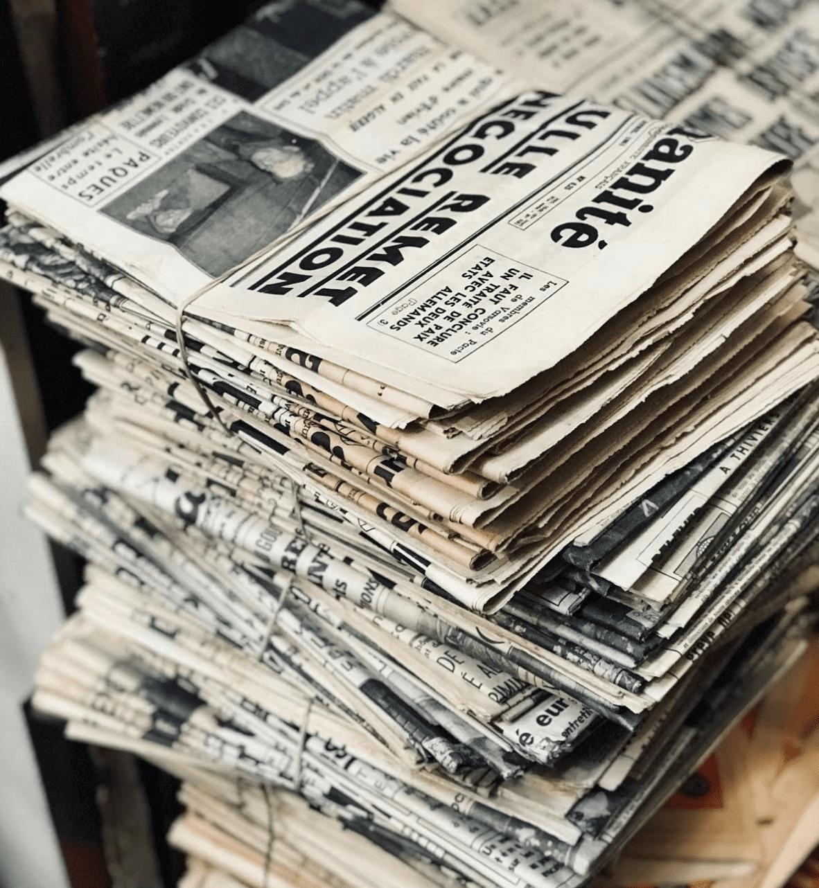 newspaper-olden